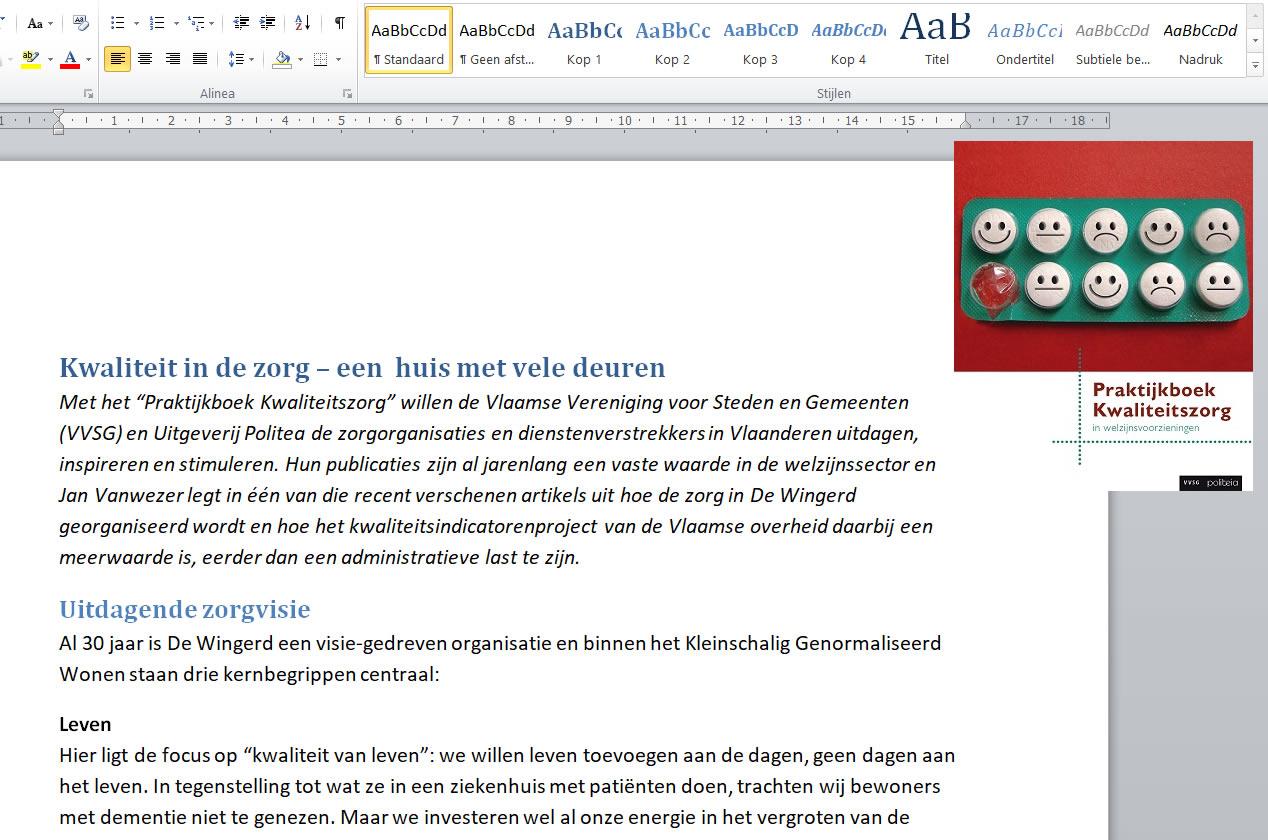 praktijkboek kwaliteitszorg